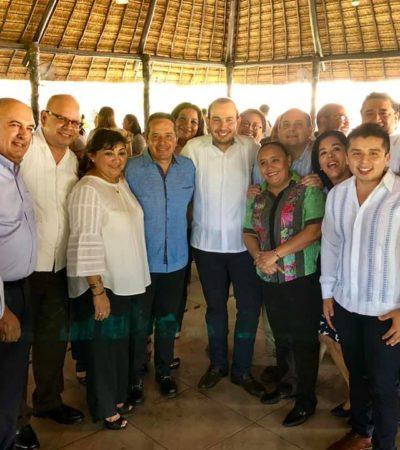 Declara Teqroo inexistentes elementos denunciados contra Carlos Joaquín por usar Casa de Gobierno para reunión con panistas
