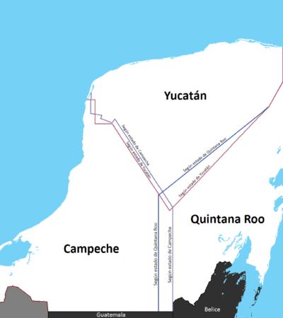 Integrantes del Comité Prodefensa de Límites de Quintana Roo buscarán acercarse a AMLO
