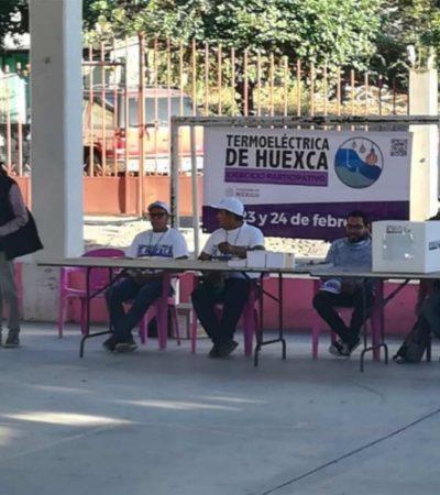 Arranca consulta pública sobre el 'Proyecto Integral Morelos' y la Termoeléctrica de Huesca