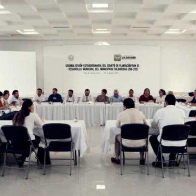 Realizan segunda sesión extraordinaria del Comité de Planeación para el Desarrollo Municipal en Solidaridad