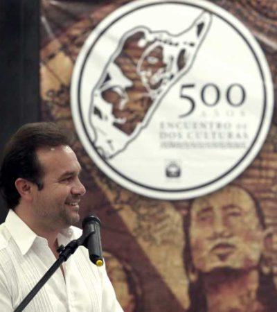 A nivel nacional, arranca en Cozumel la Conmemoración de los 500 años de la llegada de Hernán Cortés a México