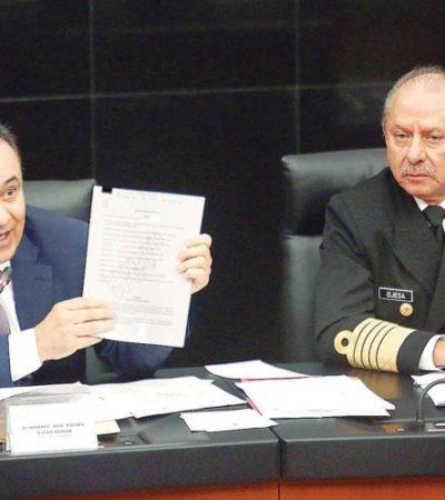 Padece México una crisis de seguridad que solo la Guardia Nacional podrá enfrentar, dice Durazo