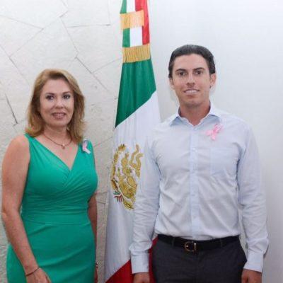 Impulsan a Elvia Barba, madre del ex Alcalde Remberto Estrada, para candidatura de la alianza Morena-PVEM por el Distrito 04 de Benito Juárez