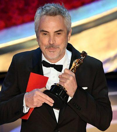 Logra Cuarón el Óscar como mejor director