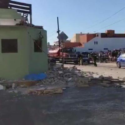 TRAGEDIA EN PROGRESO: Derrumbe de la terraza de un bar provoca la muerte de tres personas, entre ellas una niña