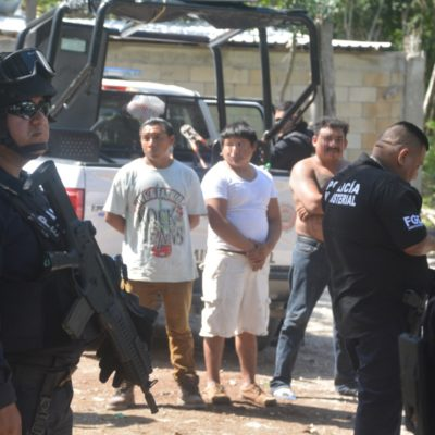 Acusan a escolta de jefe policiaco de Solidaridad de liderar invasión