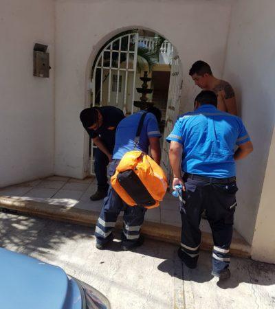 Disparan a diligenciero y le roban 200 mil pesos en Playa del Carmen