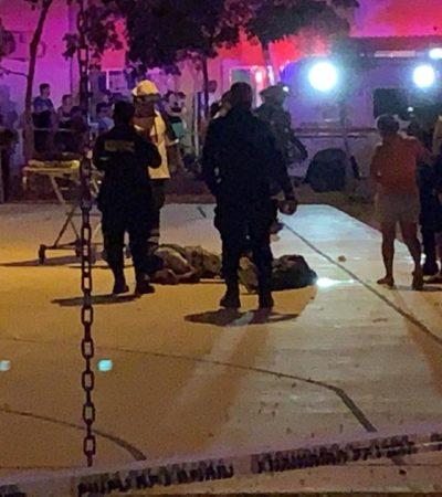 ATAQUE A BALAZOS EN UN PARQUE DEL FRACCIONAMIENTO KUSAMIL: Un adolescente muerto y otro herido en Cancún