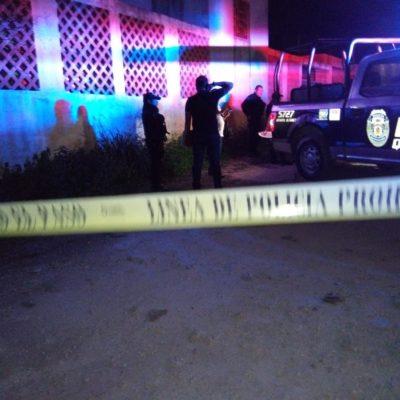 EJECUTADO EN LA 245: Matan de cuatro disparos a vecino de la colonia Riviera de Cancún
