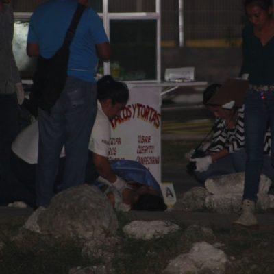 Ejecutan a joven en puesto de tacos de la colonia El Petén de Playa del Carmen