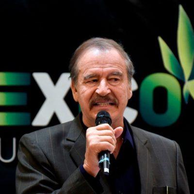 Promueve Fox empresa de mariguana medicinal, pero descarta invertir porque se quedó sin pensión