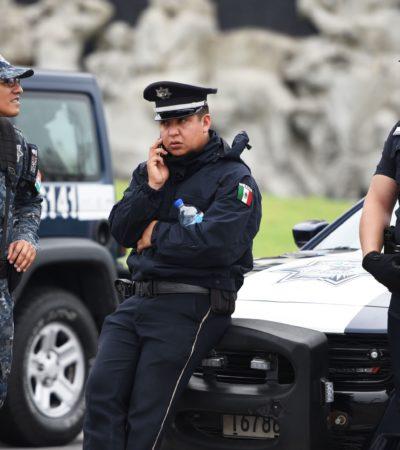Busca Alfonso Durazo calmar 'inquietudes' en la Policía Federal ante creación de la Guardia Nacional