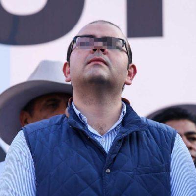 Dan formal prisión a Rodrigo Vallejo, 'El Gerber', por delincuencia organizada