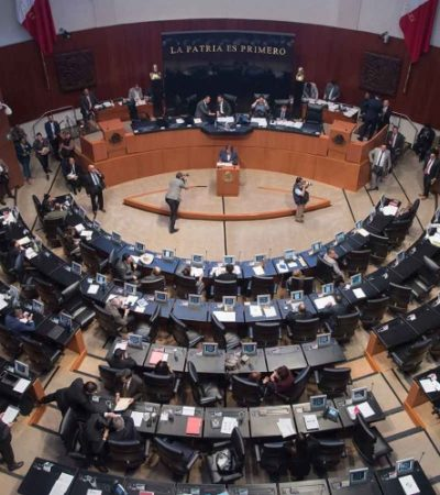 CEDE AMLO: Logra Senado 'desmilitarizar' la Guardia Nacional; tendrá mando civil