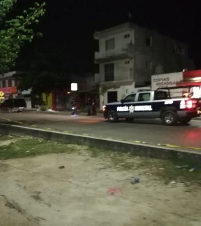 SEGUIMIENTO | Un ejecutado y una mujer herida de bala en Playa del Carmen