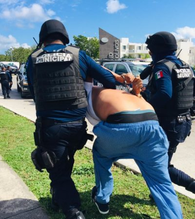 EJECUCIÓN, PERSECUCIÓN Y DETENCIONES: Matan a una persona en Playa del Carmen, pero la policía intercepta a tres presuntos sicarios cuando escapaban