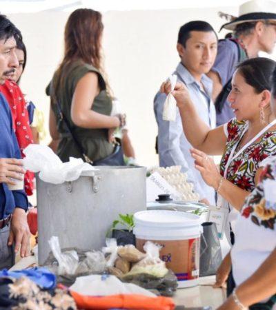 Fomentan el Mercado Maya en Tulum