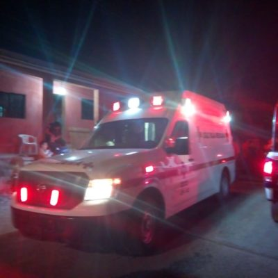 INTENTAN ARREGLAR SUS DIFERENCIAS A MACHETAZOS: Dos heridos por riña en Felipe Carrillo Puerto