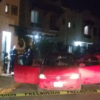 Hombre asesina a una mujer frente a su hija en el fraccionamiento Real Ibiza de Playa