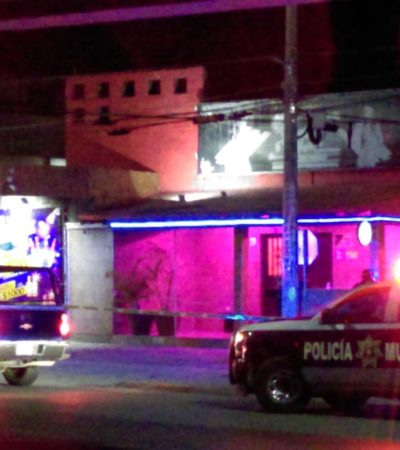 EJECUTADO EN 'TABLE DANCE' DE PLAYA: Matan a balazos a un hombre en el Baby's Hot