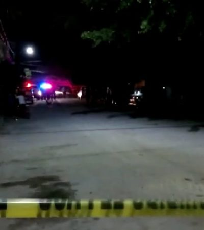 DOBLE EJECUCIÓN EN TIERRA MAYA: Matan a balazos en la Región 105 de Cancún a una joven pareja que deja en la orfandad a un bebé de 7 meses