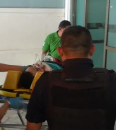 SEGUIMIENTO | SE CONSUMA OTRA EJECUCIÓN EN CANCÚN: Muere en el hospital hombre baleado el sábado en la SM 225