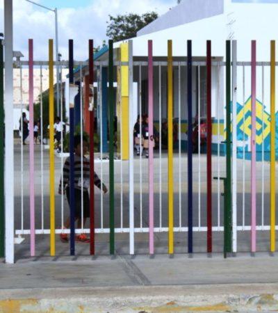 Por falta de vigilancia policíaca, roban por tercera ocasión el preescolar 'Tierra y Libertad', en Playa del Carmen