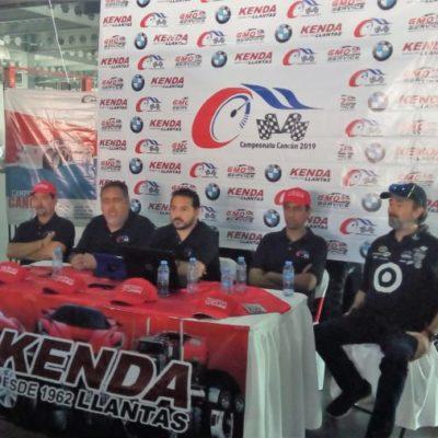 Empresarios buscan rescatar el automovilismo en QR con el Campeonato Cancún 2019