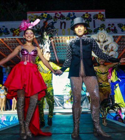 Eligen a Reyes del Carnaval Mágico Tulum 2019