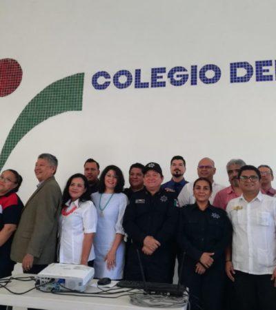 Ante los altos índices de inseguridad, exhortan a capacitarse para prevenir el delito en Cancún