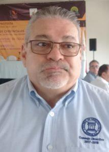 Lauro Trejo Pérez, miembro del Colegio de Arquitectos