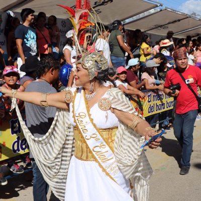 Derrochan alegría, música y color en la temporada de carnavales de la Península de Yucatán y el sureste