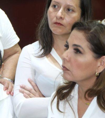 RECONOCE MARA QUE HAY DEFICIENCIAS EN ARMAMENTO: Tras disminución del Fortaseg, Mara Lezama pedirá más recursos para la seguridad