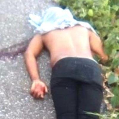 Matan asaltantes a un migrante guatemalteco sobre la carretera Tenosique-El Ceibo en Tabasco