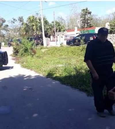 OTRO GOLPE DE SAIDÉN, AHORA EN MOTUL: Detienen policías a supuestos sicarios cancunenses en Yucatán