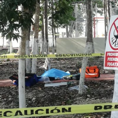 Muere mujer mientras hacía ejercicio en un parque de Playa del Carmen