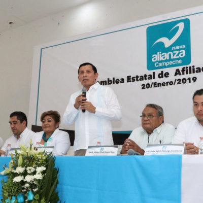ADIOS A NUEVA ALIANZA CAMPECHE: Cancela el IEEC registro como partido local otorgado previamente