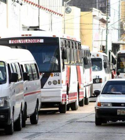 Bajan tarifas del transporte público en Mérida