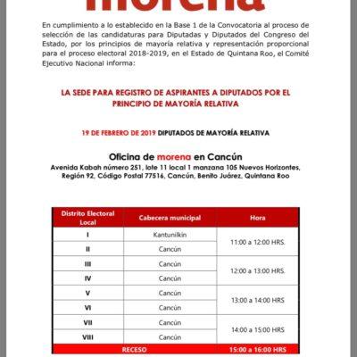 ¿SE DESCARRILA LA ALIANZA MORENA-PVEM-PT?: Pese a acuerdo de coalición, preparan registro de aspirantes para los 15 distritos electorales de QR