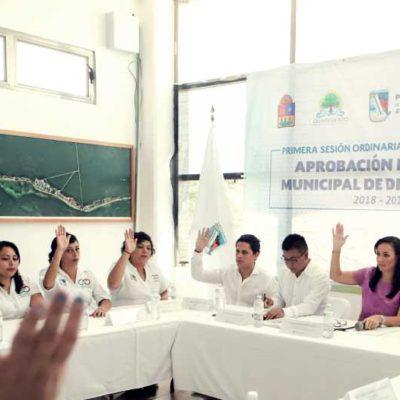 Aprueba Gobierno de Puerto Morelos su Plan Municipal de Desarrollo 2018-2021