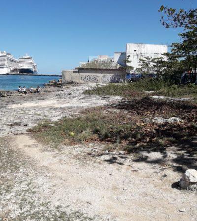 Alistan nuevo parque junto a playa en Cozumel