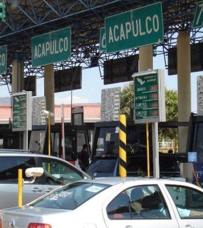 SORPRESA EN EL PRIMER 'PUENTE' DEL AÑO: Aumenta peaje en la Autopista del Sol, que va de la CDMX a Acapulco