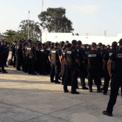 SE INCONFORMAN POLICÍAS EN SOLIDARIDAD: Reclaman uniformados pagos y prestaciones; mandos anuncian revisión y conjuran paro