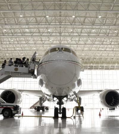 Ordena INAI a Sedena dar a conocer convenio con Boeing para resguardar el avión presidencial