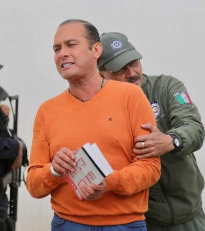 Acusa exfiscal de Javier Duarte que Jorge Winckler lo tiene 'prácticamente secuestrado' en la cárcel