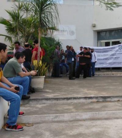 TOMARÍAN DESPACHO DE LA SECRETARIA: Sindicalizados de Semarnat en Yucatán se unen a protesta nacional