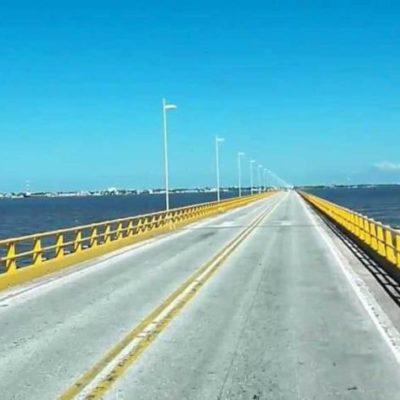 Encarecerán productos en Yucatán por cierre parcial del Puente de la Unidad, en Campeche