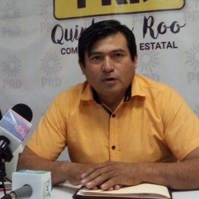 El PRD buscará mantener su registro como partido y ganar tres distritos en QR, asegura Rafael Esquivel Lemus