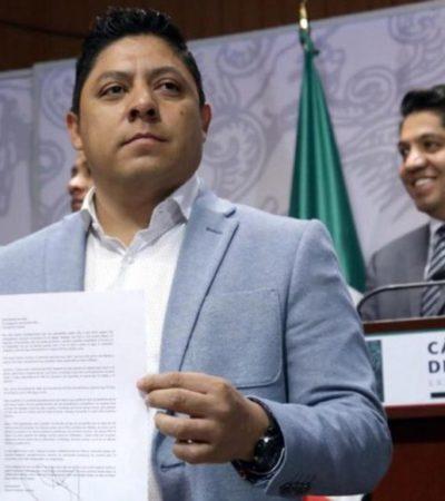 Se fractura el PRD en San Lázaro; renuncian el coordinador y 8 diputados para aliarse con Morena