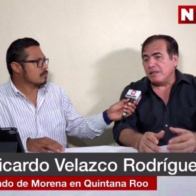 """ENTREVISTA   URGE 'MORENIZAR' A GOBIERNOS MUNICIPALES: 'Impresentables' que se inscribieron para una diputación, """"no pasarán"""", advierte nuevo delegado de Morena en QR"""